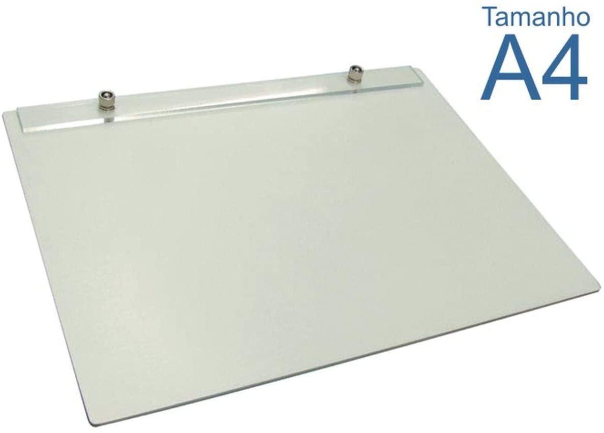 Prancheta Portátil Branca Formato A4, 48-A4F - Trident