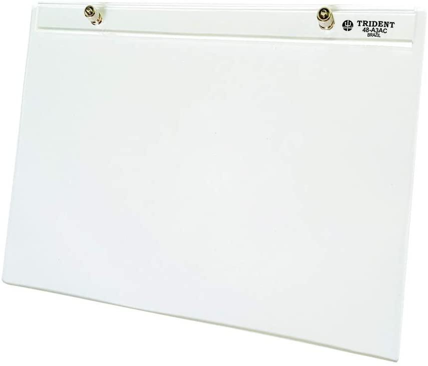 Prancheta Portátil em Acrílico Cristal A3 48-A3AC-Trident