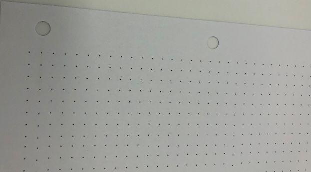 Refil para Fichário pontilhado A4 60 folhas 120g