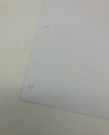 Refil para Fichário sem pauta A4 60 folhas 120g