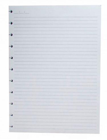 Refil caderno inteligente Pautado 120g Grande 50fls