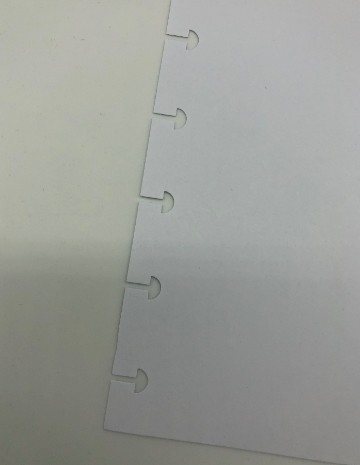 Refil caderno inteligente pautado  90g Grande 50fls