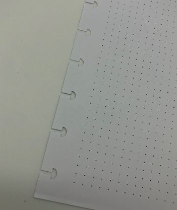 Refil Caderno Inteligente pontilhado 50 Folhas 120g