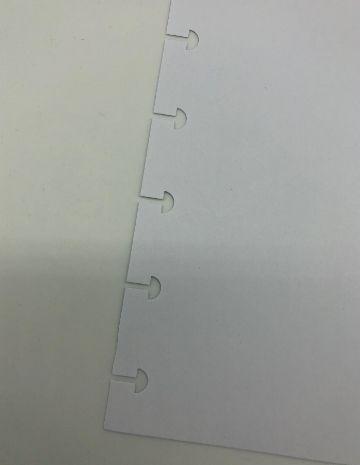 Refil caderno inteligente sem pauta 120gr 50fls