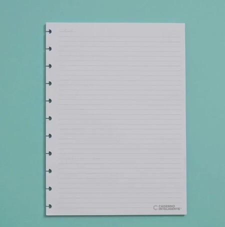 Refil Pautado Caderno Inteligente Tamanho Médio
