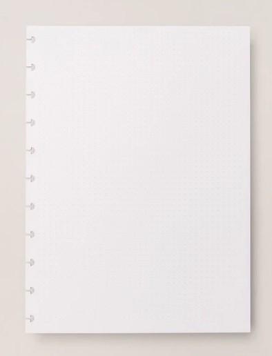 Refil Pontilhado Caderno Inteligente Tamanho Médio