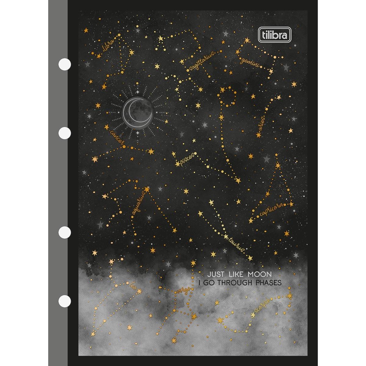 Refil Tiliflex para Caderno Argolado Colegial Magic 80 Folhas