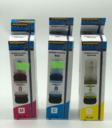 refil tinta epson corante 504 / 544