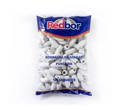 Saco borracha ponteira com 100 unidades - Redbor
