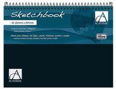 Sketchbook tilibra 50folhas a4 150gr