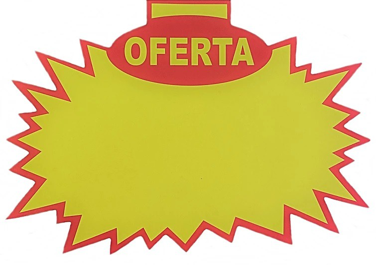 SPLASH OFERTA CARTÃO CARTAZ 250 GRS 21X30 PCT C/20 UNIDADES