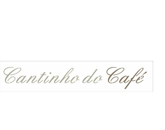 Stencil cantinho do café 6x30