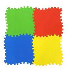 Tapete de EVA liso 4 peças de 50x50x1 cada
