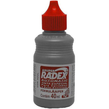 Tinta para Carimbo 40ML Automatico - Radex