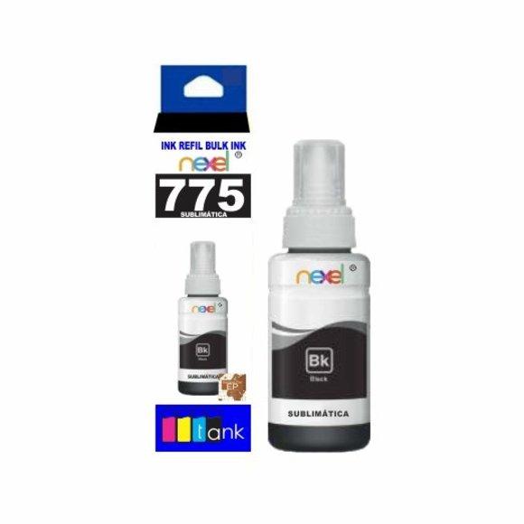 Tinta Sublimática Refil 775 Preto 100ml - Nexel