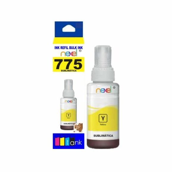 Tinta Sublimática Refil 775 Yellow 100ml - Nexel