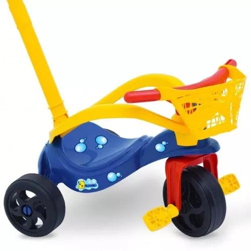 Triciclo Peixinho Com Proteção e Cestinha - Xalingo