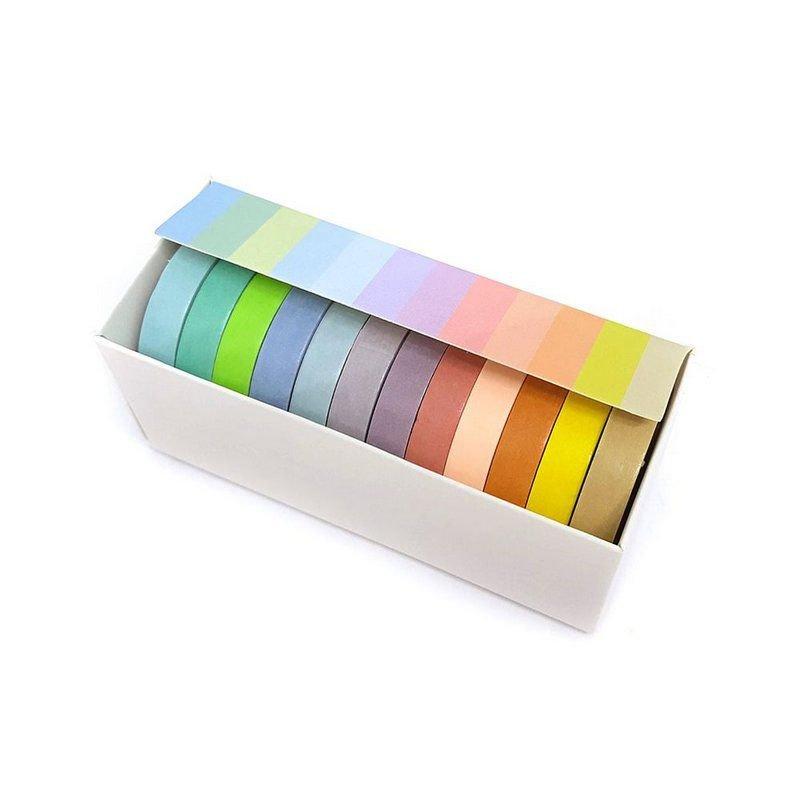 Washi Tape 12 cores