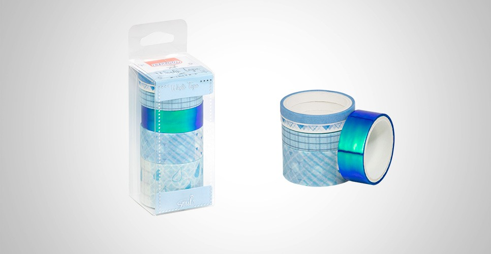 Whasy Tape Candy Azul - BRW