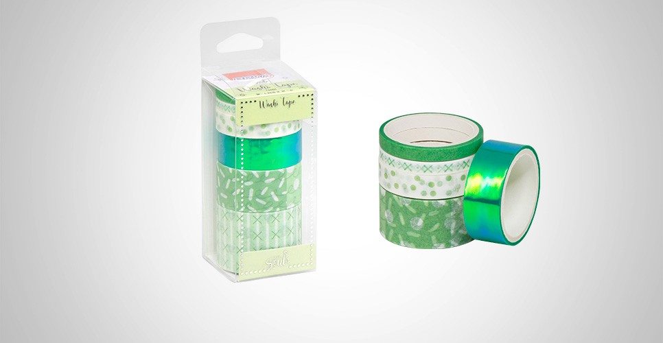 Whasy Tape Candy Verde - BRW