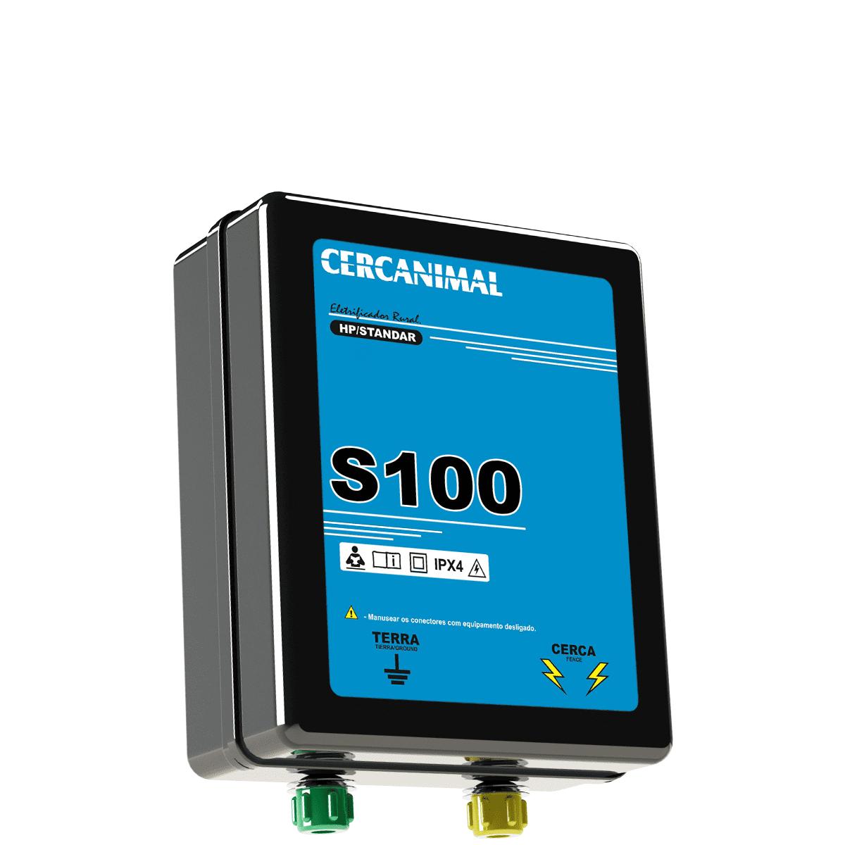Aparelho Cerca Eletrica Gado Eletrificador Rural 300km 1,81j 12V (Bateria)  - Ambientude Agro e Pet