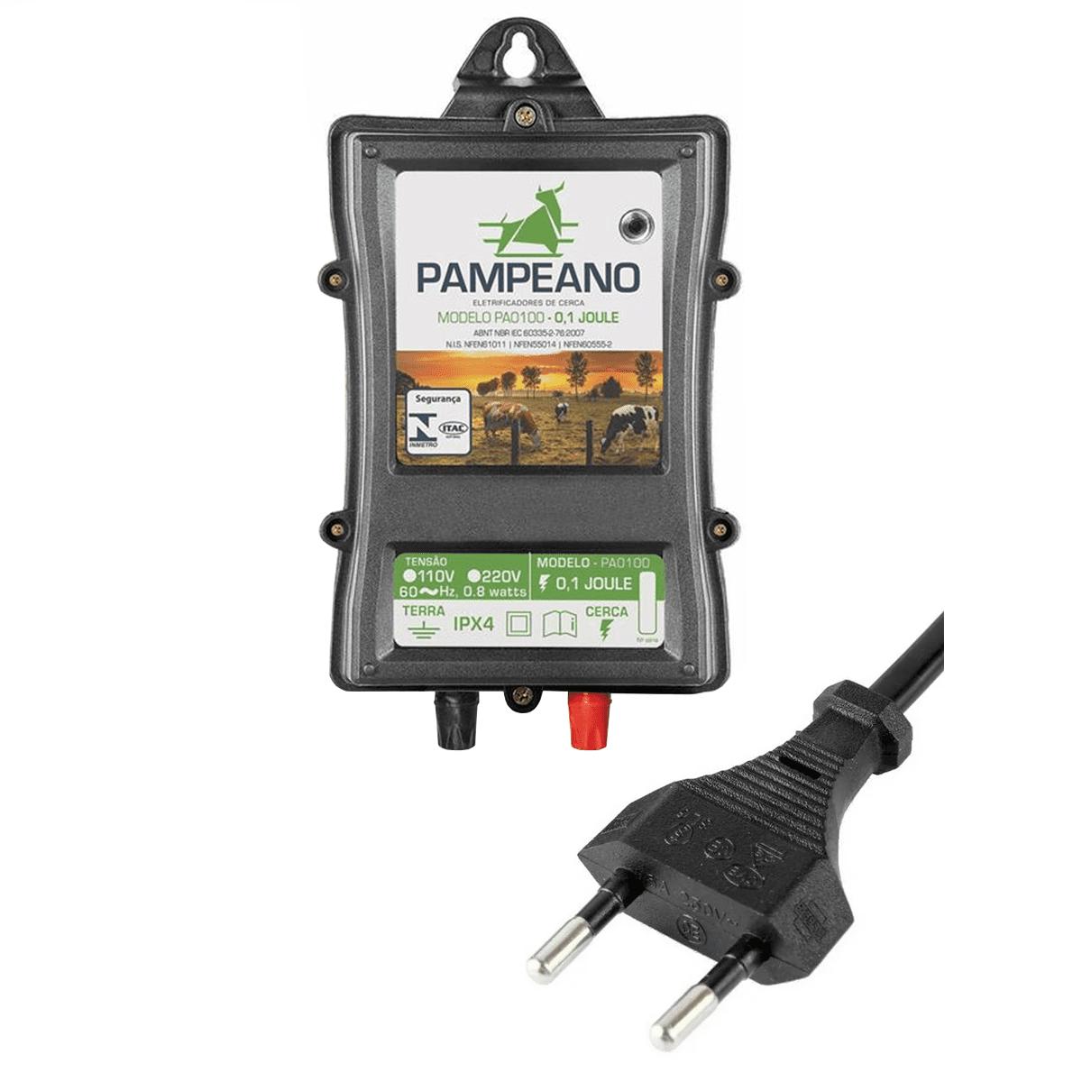 Aparelho De Choque Elétrico Eletrificador Cerca Rural 30Km  - Ambientude Agro e Pet