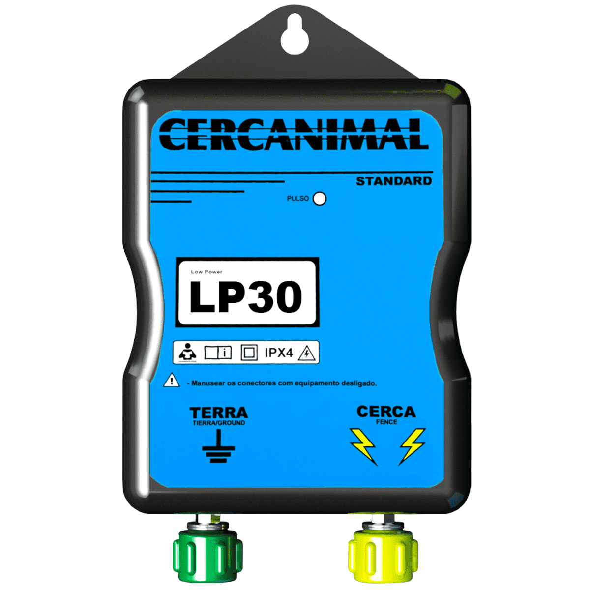 Cerca Elétrica Rural Eletrificador Fio Anti Raio + Brinde  - Ambientude Agro e Pet