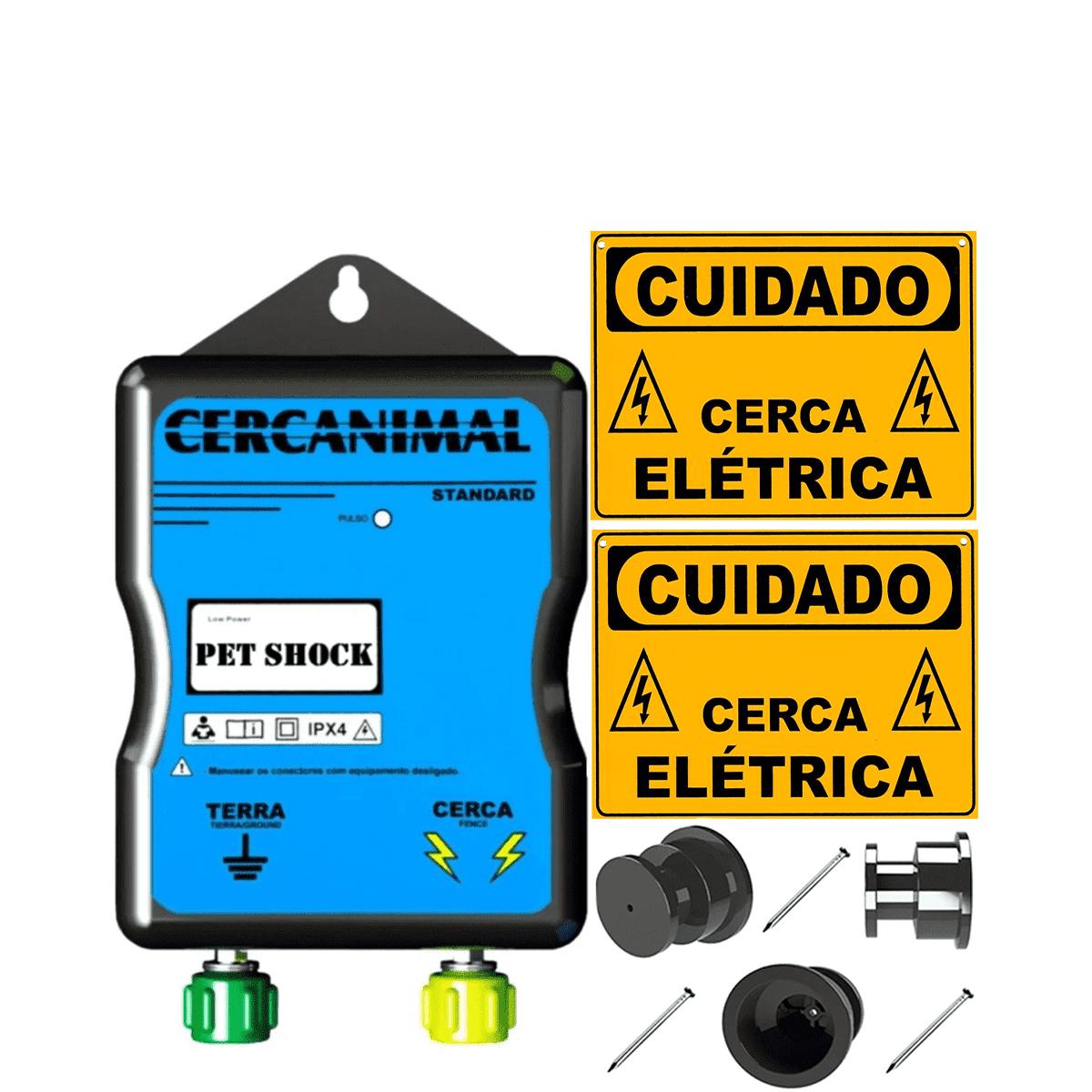 Cerca Eletrica Rural P/ Coelhos Caes Gatos Animais Pequenos  - Ambientude Agro e Pet