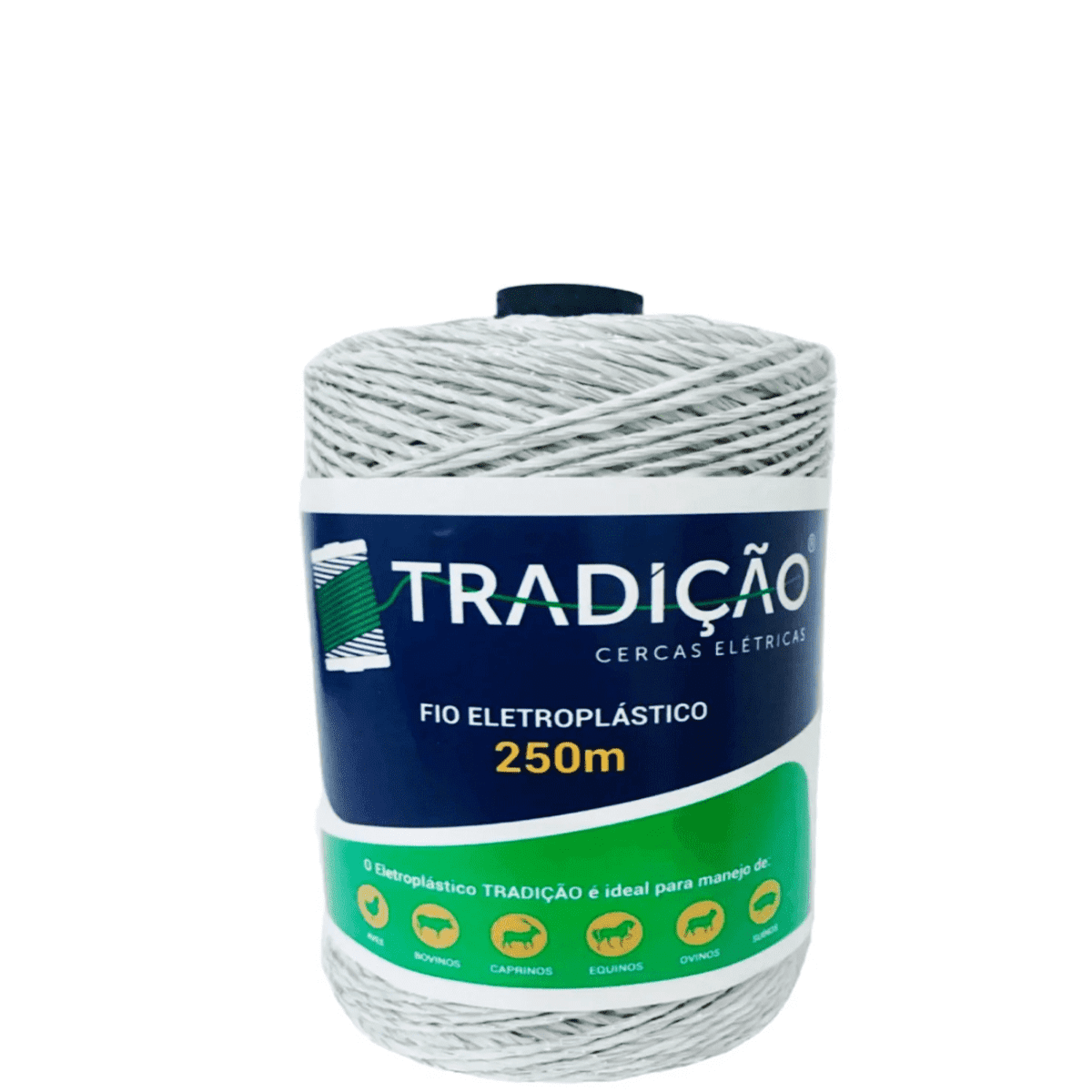 Fio Para Cerca Elétrica Rural Industrial Residencial Eletroplastico - 250 Metros  - Ambientude Agro e Pet