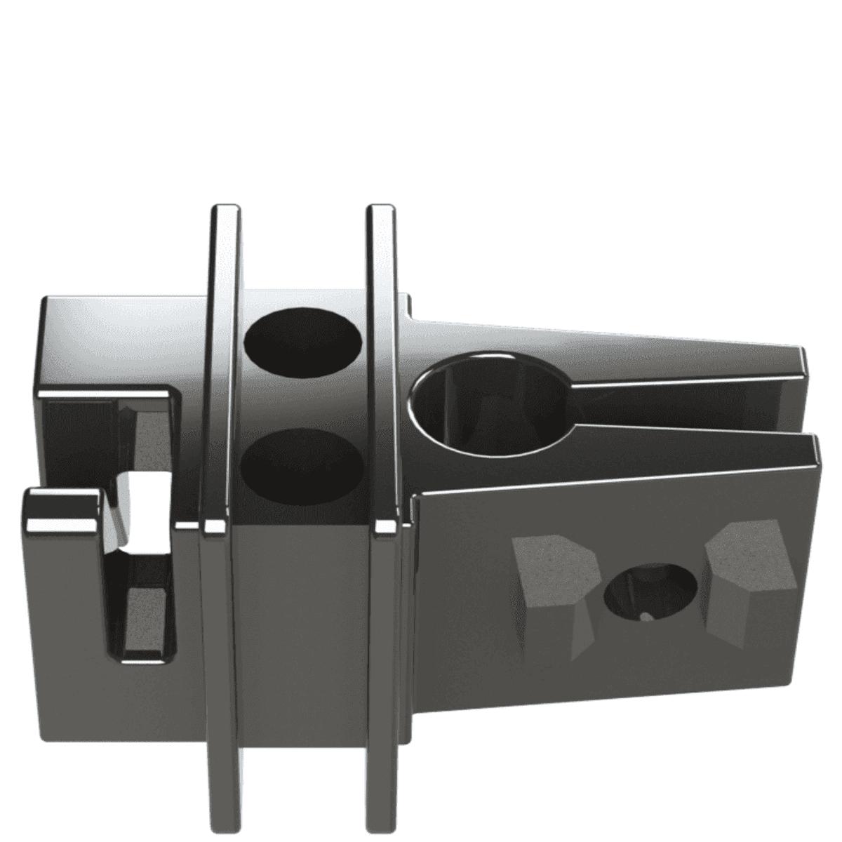 Isolador Para Vergalhão Preto Cerca Elétrica Rural Residencial Industrial Pacote 100 Unidades  - Ambientude Agro e Pet