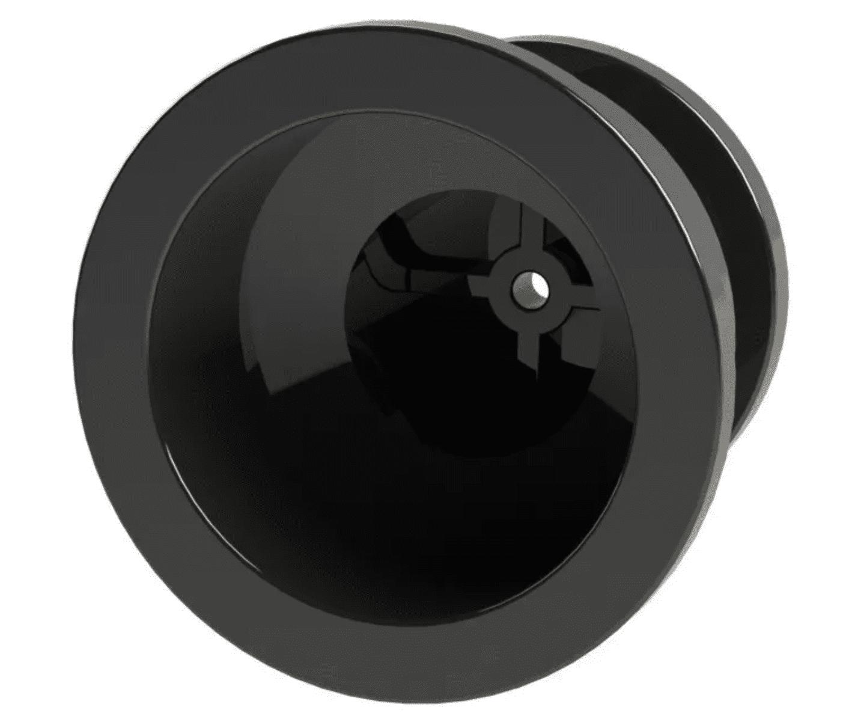 Isolador Roldana 36x36 Com Prego Para Cerca Elétrica Rural 100 Peças   - Ambientude Agro e Pet