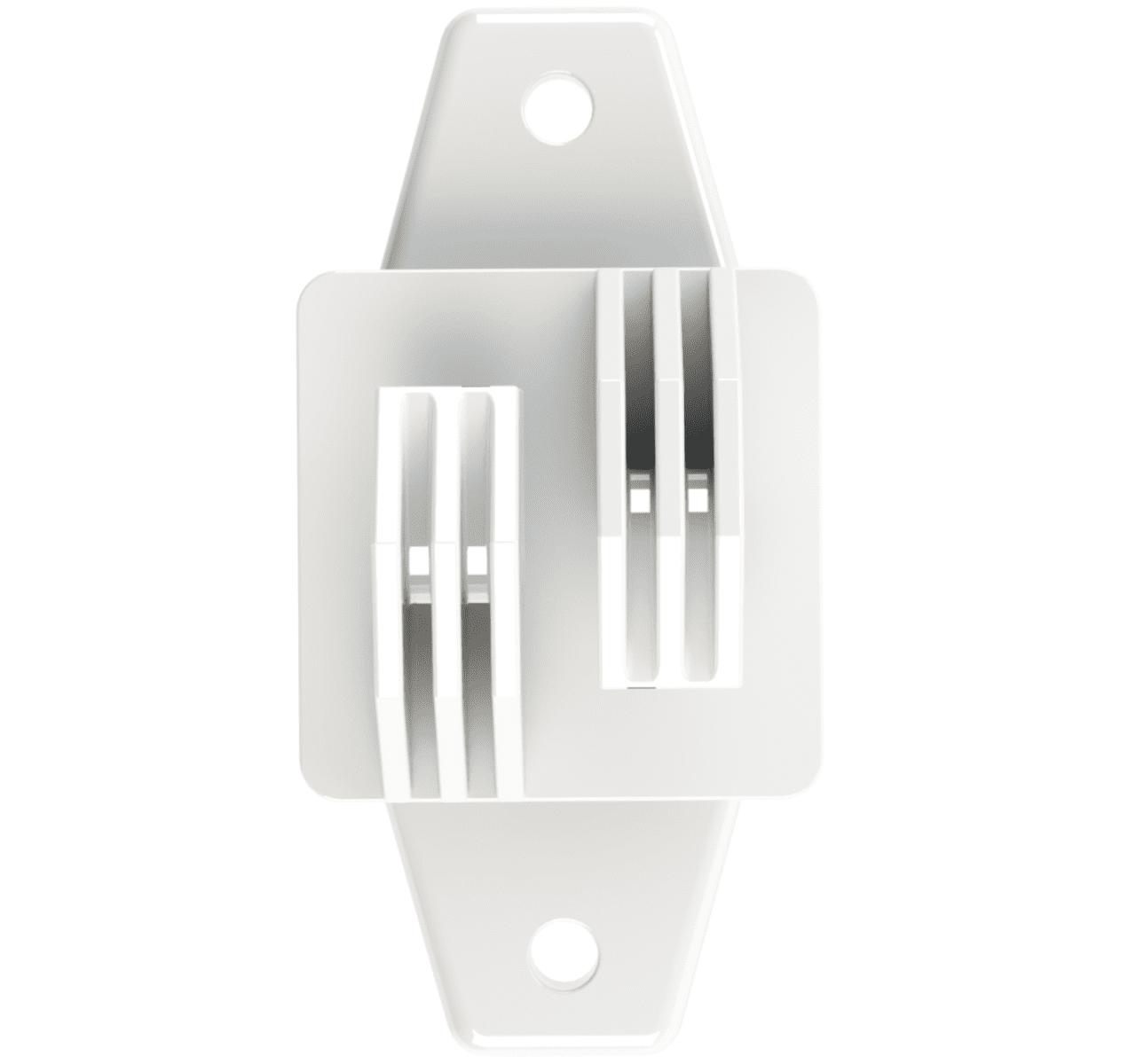 Isolador Tipo W Branco Cerca Elétrica Rural Residencial Industrial Pacote 100 Unidades  - Ambientude Agro e Pet