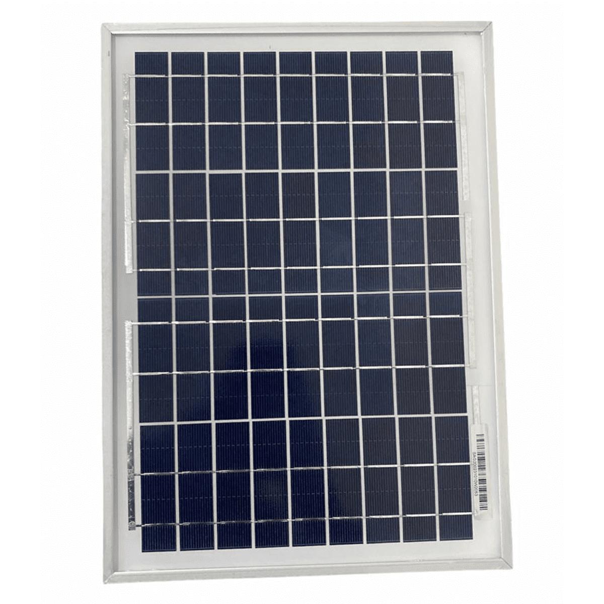 Placa Solar Para Cerca Elétrica Rural 10w Para Eletrificador  - Ambientude Agro e Pet