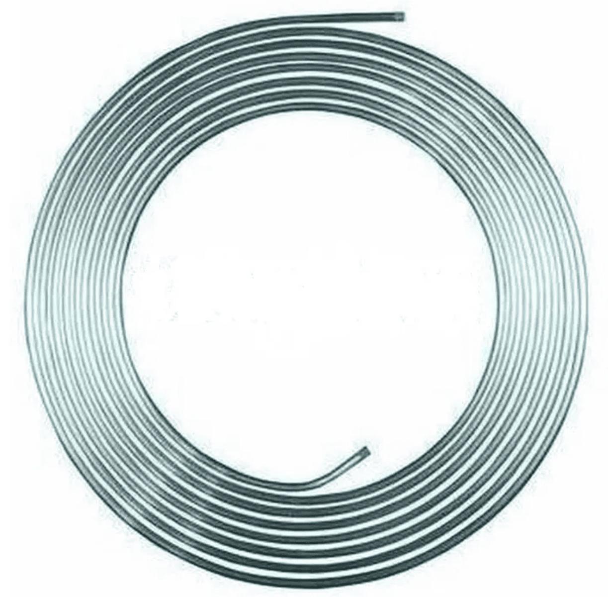 Serpentina Refrigeração Chopeira Cano Alumínio 15 Metros 1/2 Polegada  - Ambientude Agro e Pet