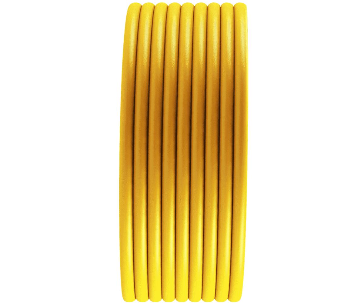 Tubo Isolador Cerca Elétrica 1/2 Amarelo - 100m  - Ambientude Agro e Pet