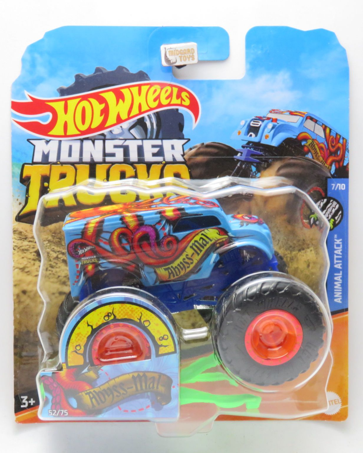Midgard Toys Os Melhores Artigos De Todo O Reino Monster Trucks Abyss Mal 52 1 64 Hot Wheels
