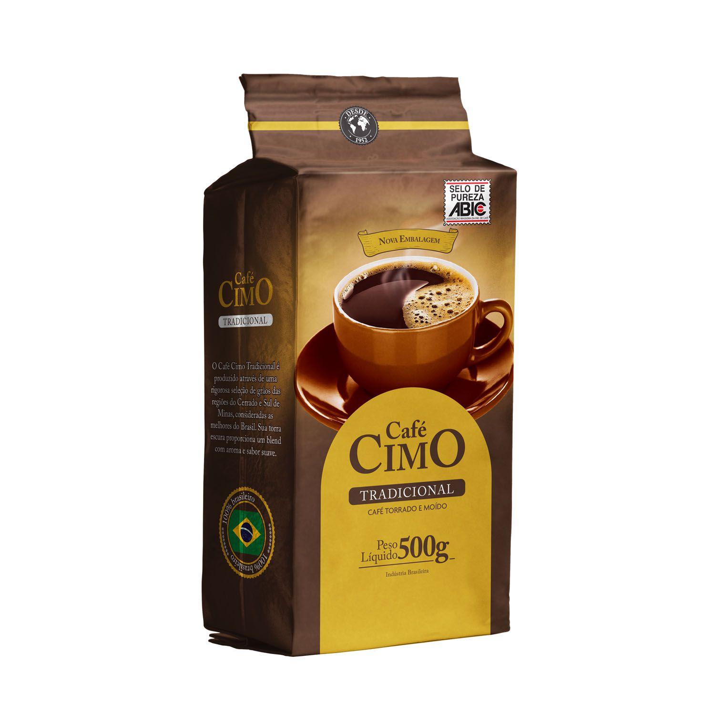 Café Cimo Tradicional Vácuo Puro 500g