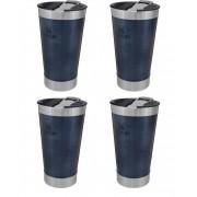 Kit Copos Cerveja Gelada Stanley Azul Nightfall