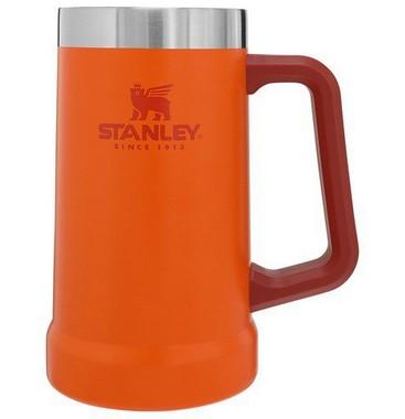 Caneca Térmica de Cerveja Stanley Orange 709ml