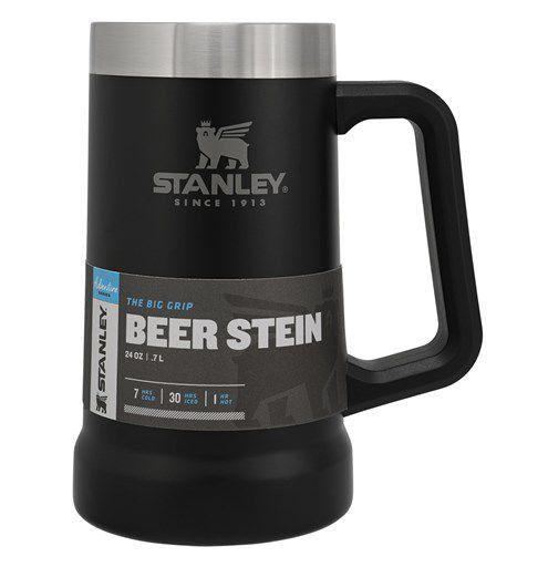 Caneca Térmica de Cerveja Stanley Preto Fosco 709ml