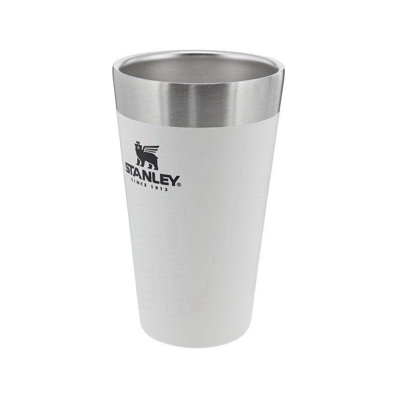 Copo Térmico de Cerveja Stanley Branco 473ml