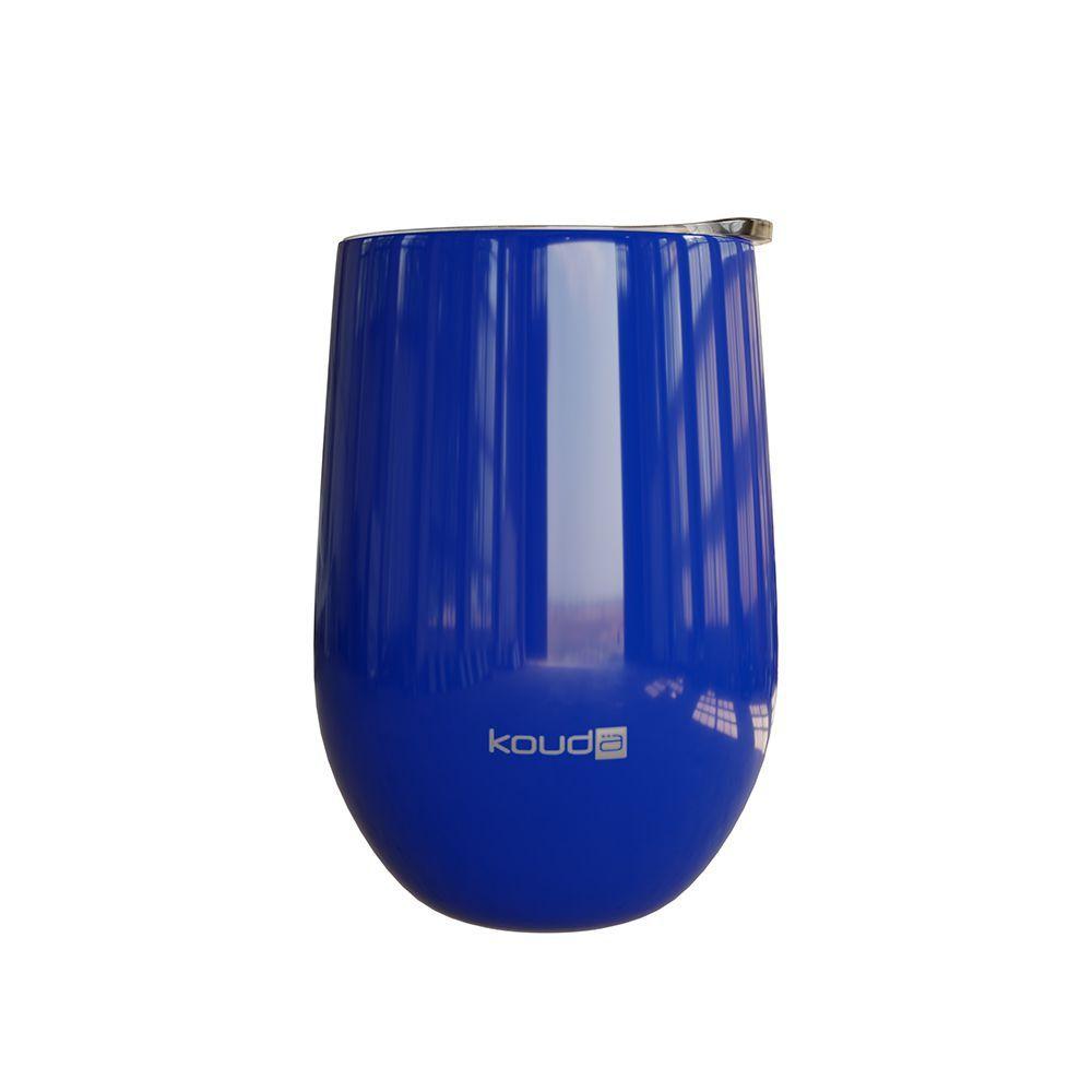 Copo Térmico Kouda Egeu Azul 410ml