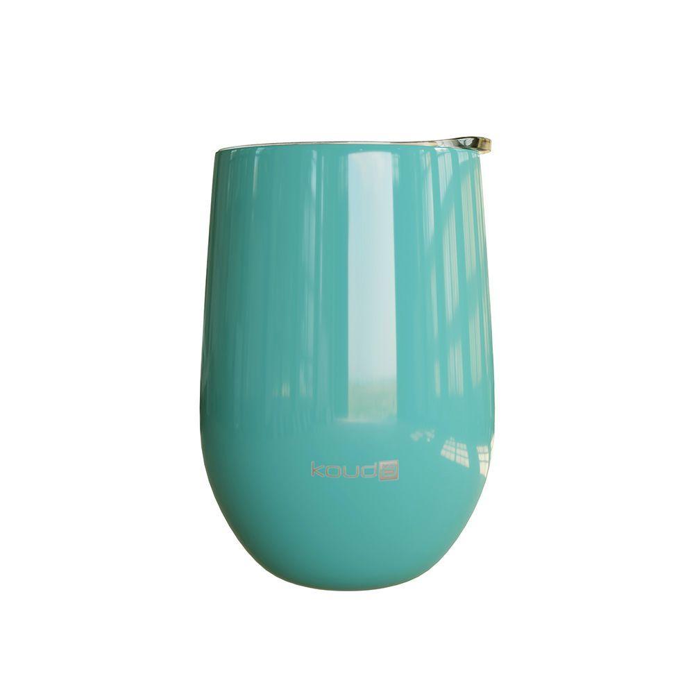 Copo Térmico Kouda Egeu Verde Água 410ml