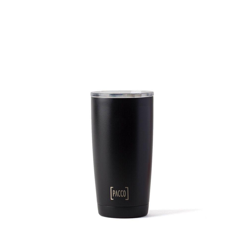 Copo Térmico Pacco Thermo Cup Preto 600ml
