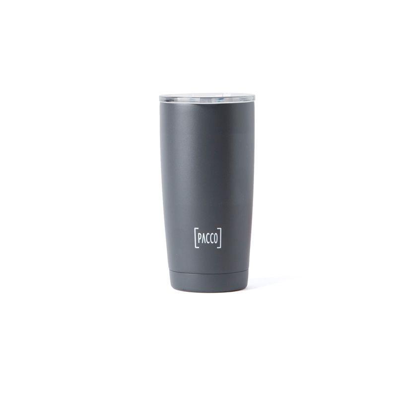Copo Térmico Pacco Thermo Cup Cinza 600ml