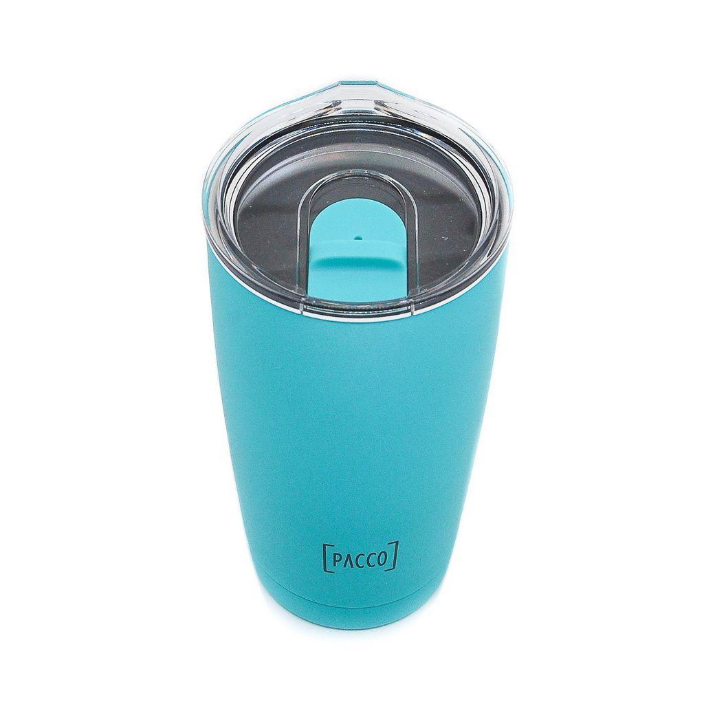 Copo Térmico Pacco Thermo Cup Turquesa 600ml