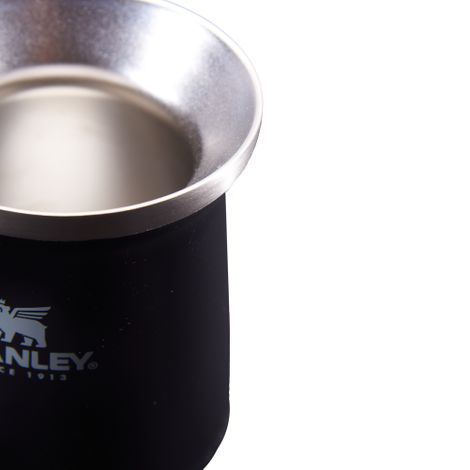 Cuia Térmica Stanley Classic Preta Mate Black 230ml