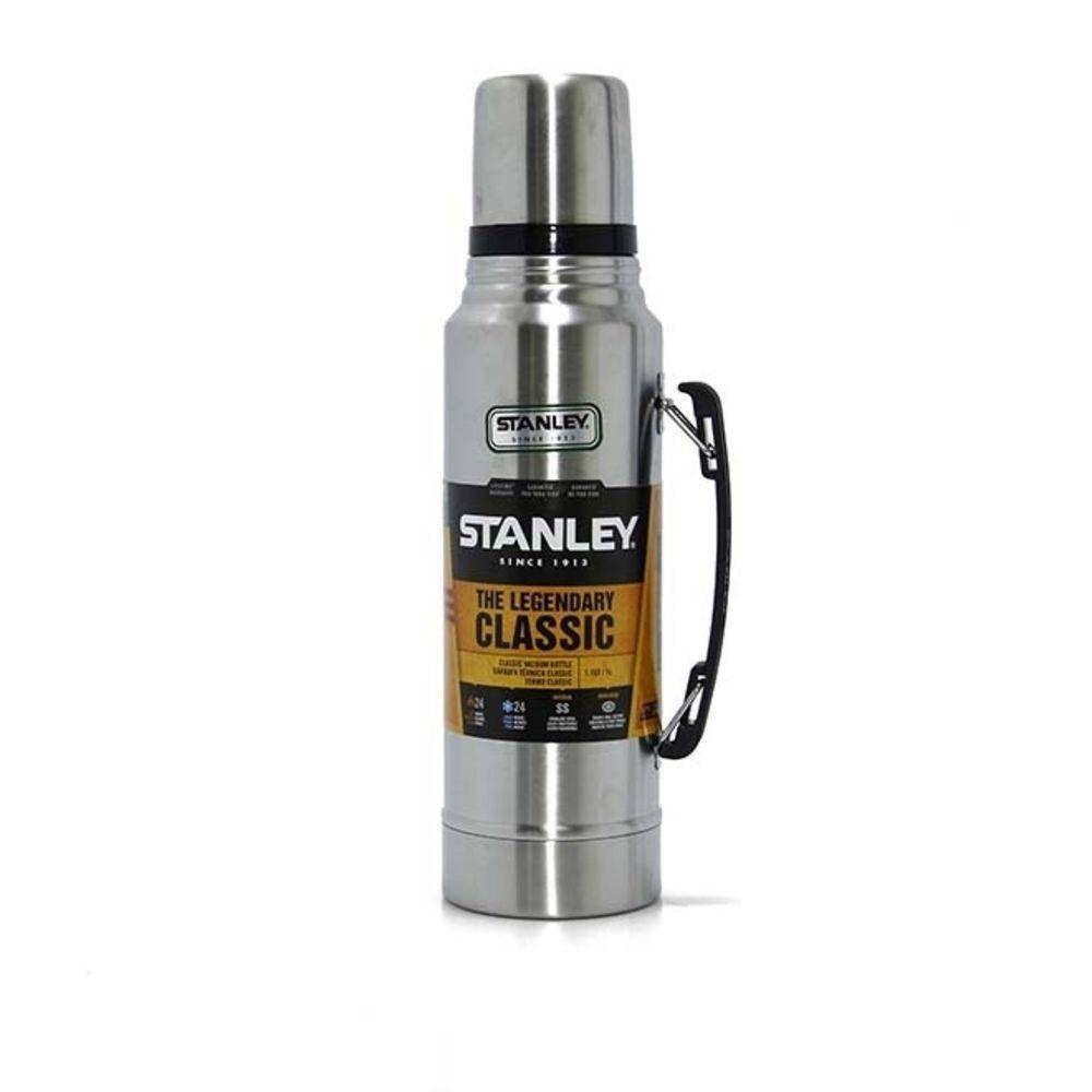 Garrafa Térmica Stanley Classic Prata 1L