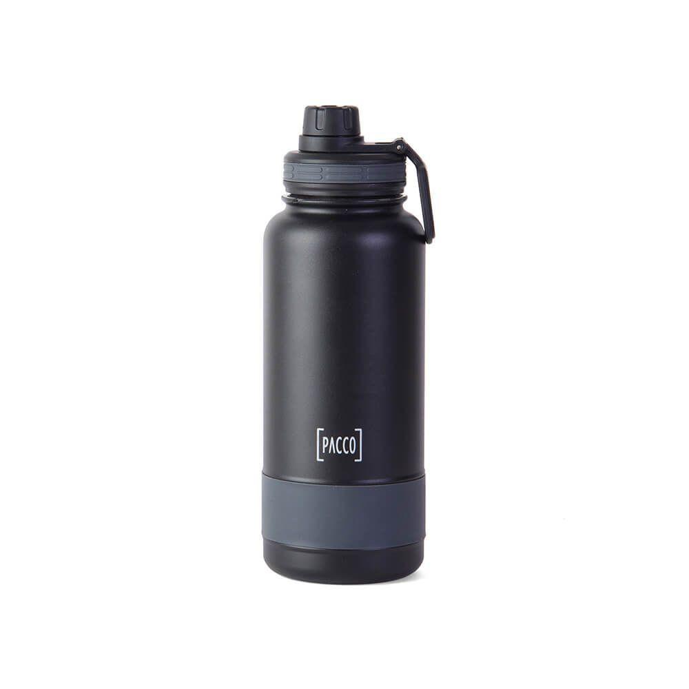 Garrafa Térmica Pacco Hydra Bottle Preta 950ml