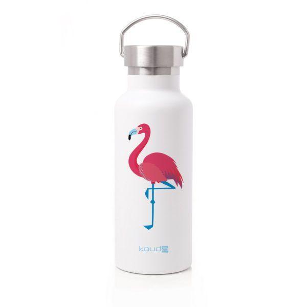Garrafa Térmica Kouda Martial Flamingo 500ml
